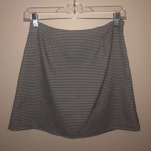 forever 21 houndstooth pencil skirt